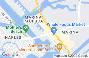 Long Beach Mattress Store Location Map