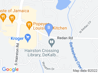 Map of Hidden Hills Animal Hospital Dog Boarding options in Stone Mountain | Boarding