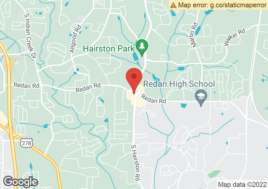 Google Map of 4765 REDAN RD