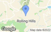 Map of Rolling Hills, CA