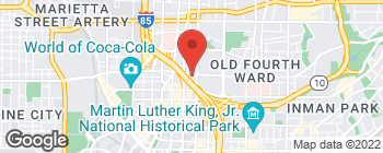 Map of 139 R McGill Blvd NE in Atlanta