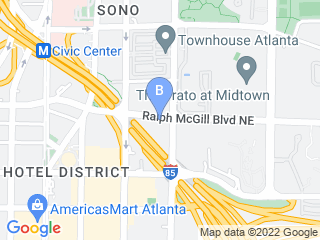 Map of Bark Atl Dog Boarding options in Atlanta | Boarding