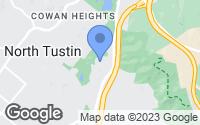 Map of Tustin, CA