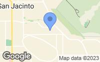 Map of San Jacinto, CA