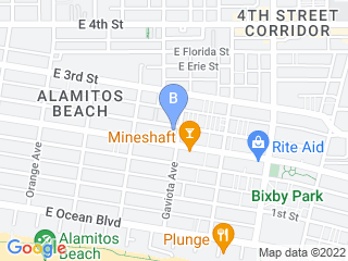 Map of Wooftidoo Pet Services Dog Boarding options in Long Beach | Boarding