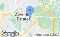 Map of Avondale Estates, GA
