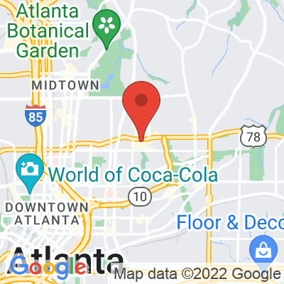 Map showing Spiller Park Coffee