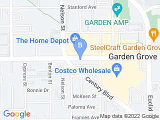 Map of Garden Grove Dog  Cat Hospital Dog Boarding options in Garden Grove | Boarding