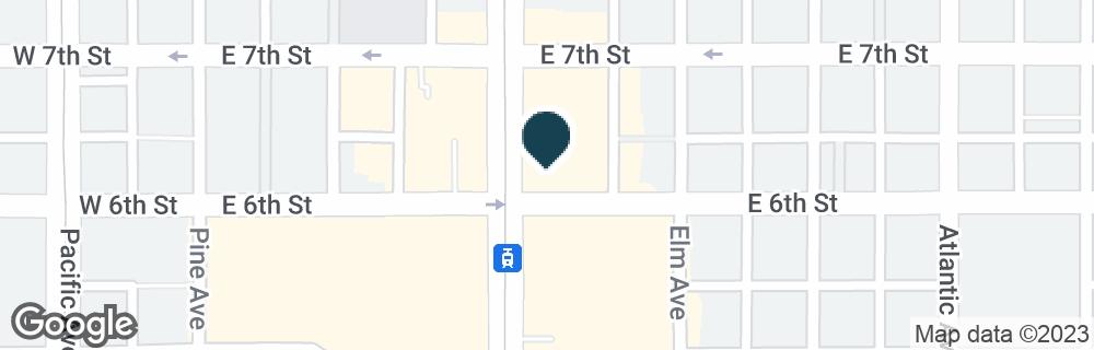 Google Map of600 LONG BEACH BLVD