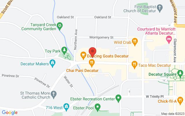 static image of 403 West Ponce de Leon Avenue, Decatur, Georgia