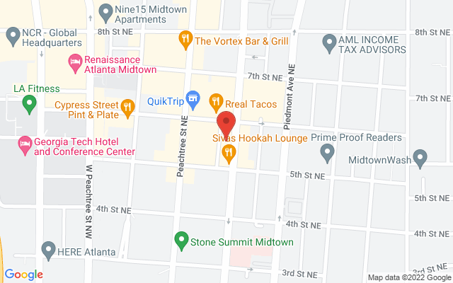 static image of 814 Juniper Street Northeast, Suite 201, Atlanta, Georgia
