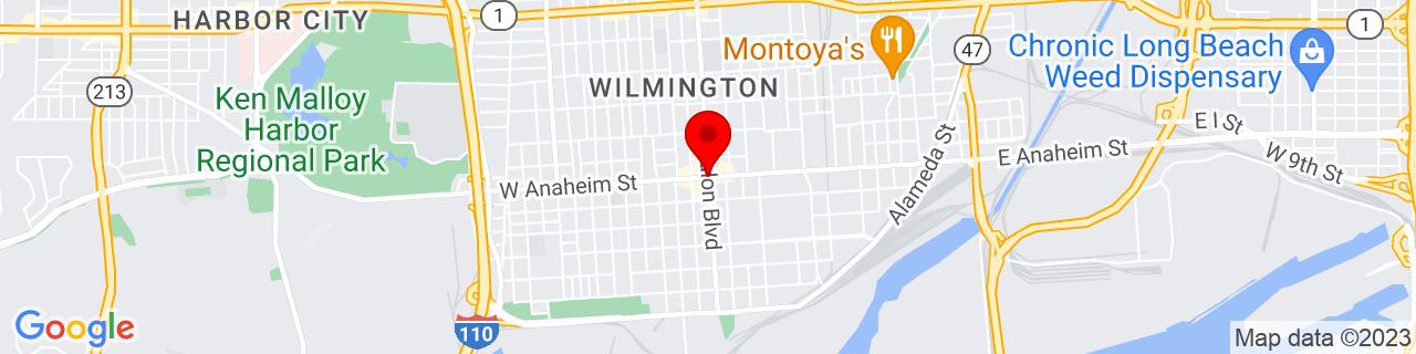 Google Map of 33.78, -118.2625
