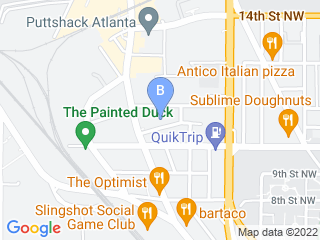 Map of Atlanta Dog Spa Dog Boarding options in Atlanta | Boarding