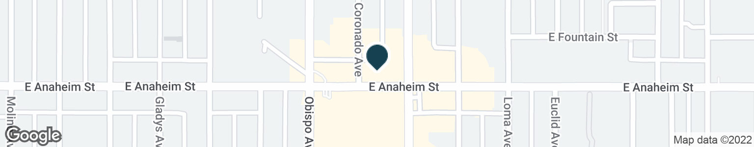 Google Map of3339 E ANAHEIM ST