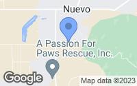 Map of Nuevo, CA