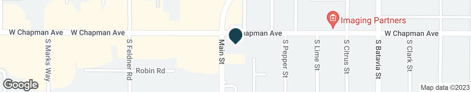 Google Map of111 S MAIN ST