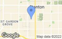 Map of Stanton, CA