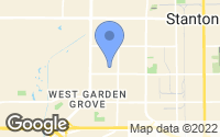 Map of Garden Grove, CA
