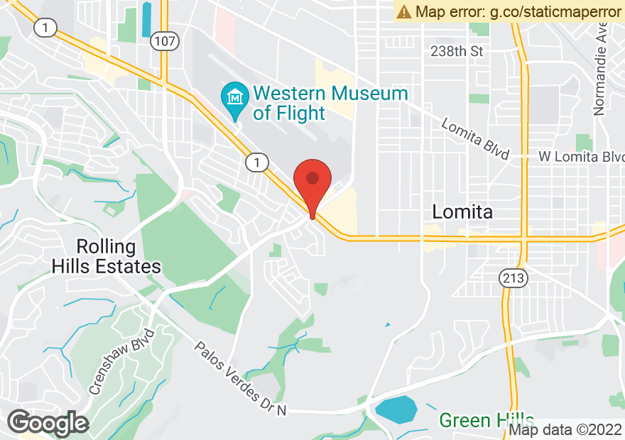 Google Map of 2690 PACIFIC COAST HWY