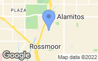 Map of Rossmoor, CA