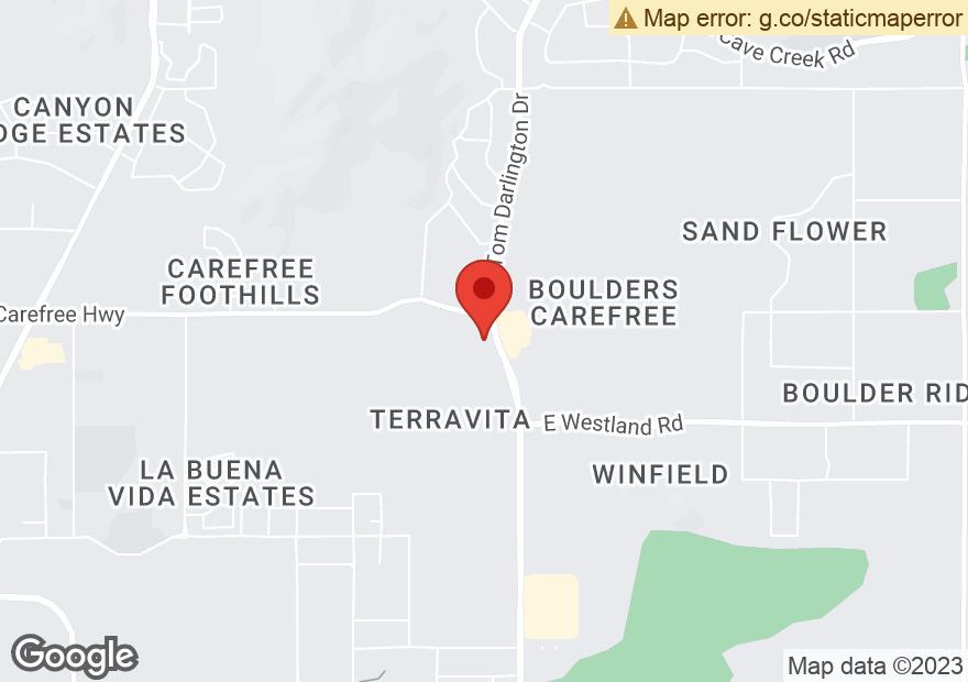 Google Map of 34402 N SCOTTSDALE RD