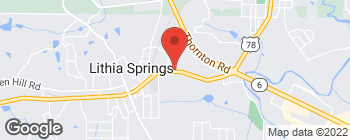 Map of 3387 Veterans Memorial Hwy in Lithia Springs
