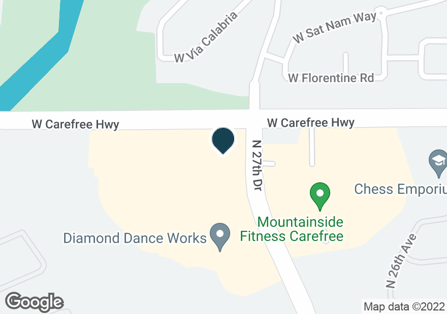 Google Map of2707 W CAREFREE HWY