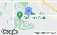 Map of Rancho Mirage, CA