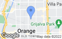 Map of Orange, CA