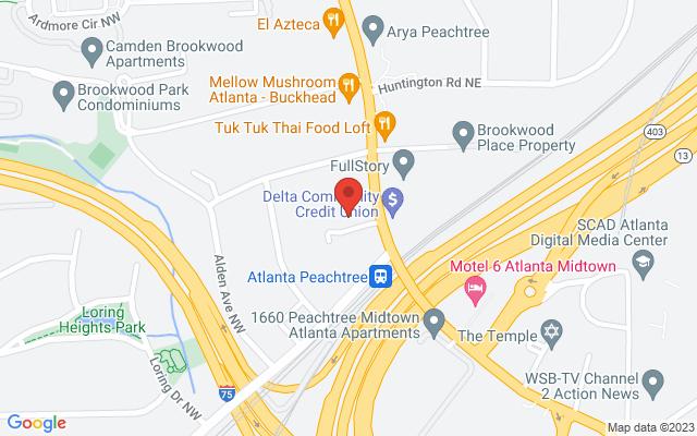 static image of 1708 Peachtree Road Northwest, Suite 425, Atlanta, Georgia