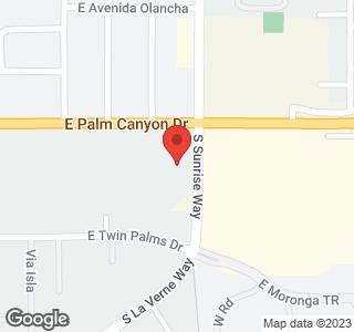 1655 E Palm Canyon Drive ## 618