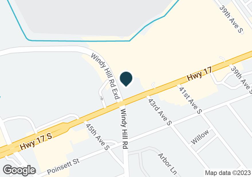 Google Map of4300 HIGHWAY 17 S