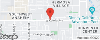 Map of 1807 W Katella Ave in Anaheim