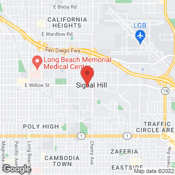 Map of Sprint at 1850 Willow St, Signal Hill, CA 90755