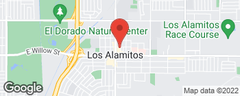 Map of 10900 Los Alamitos Blvd in Los Alamitos