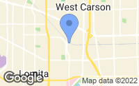Map of West Carson, CA