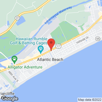 Map of Check `n Go at 2713 Highway 17 South, North Myrtle Beach, SC 29582