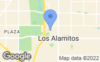 Map of Los Alamitos, CA