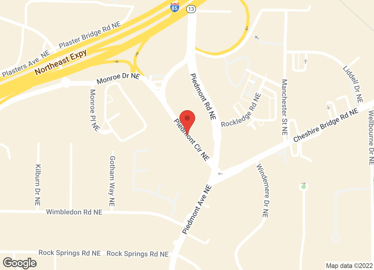 Google Map of VCA Buckhead Animal Hospital