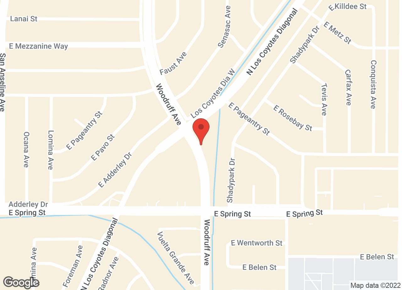 Google Map of VCA Los Altos Animal Hospital