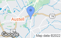 Map of Austell, GA