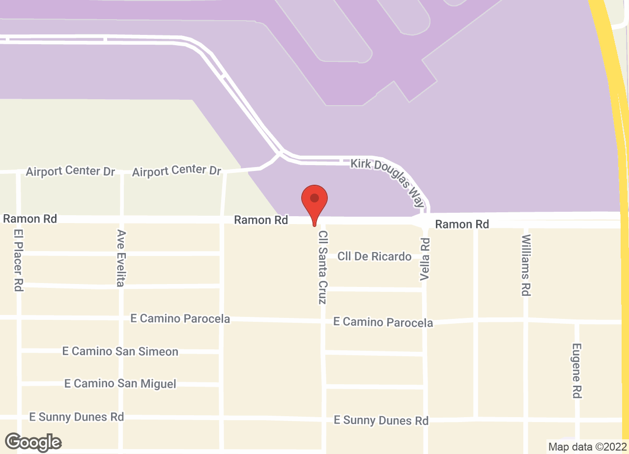 Google Map of VCA Desert Animal Hospital