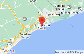 Map of North Myrtle Beach
