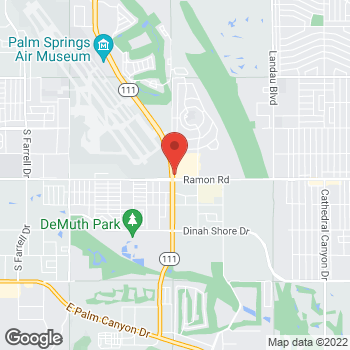 Map of Panera Bread at 5200 Ramon Road, Palm Springs, California 92264