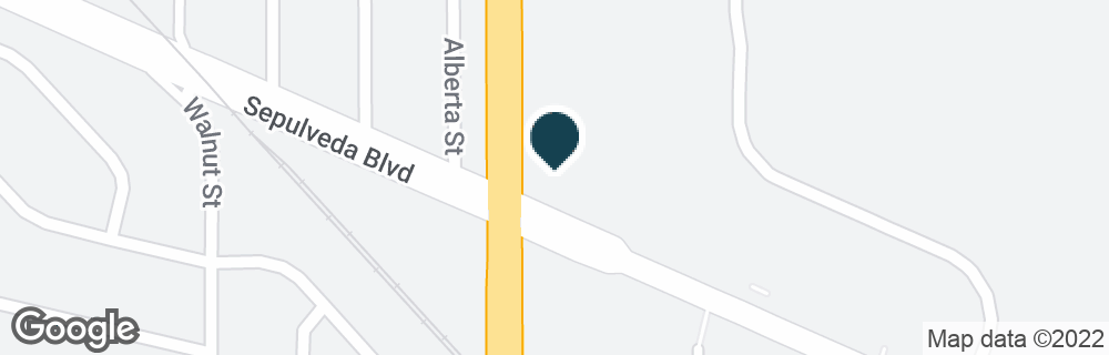 Google Map of22930 S WESTERN AVE