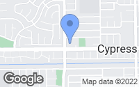 Map of Cypress, CA