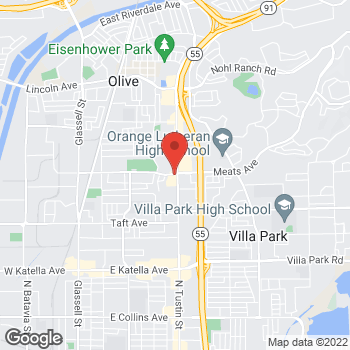 Map of Sprint at 2094 N Tustin St, Orange, CA 92865