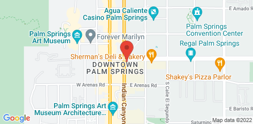 Directions to Thai Smile Palm Springs