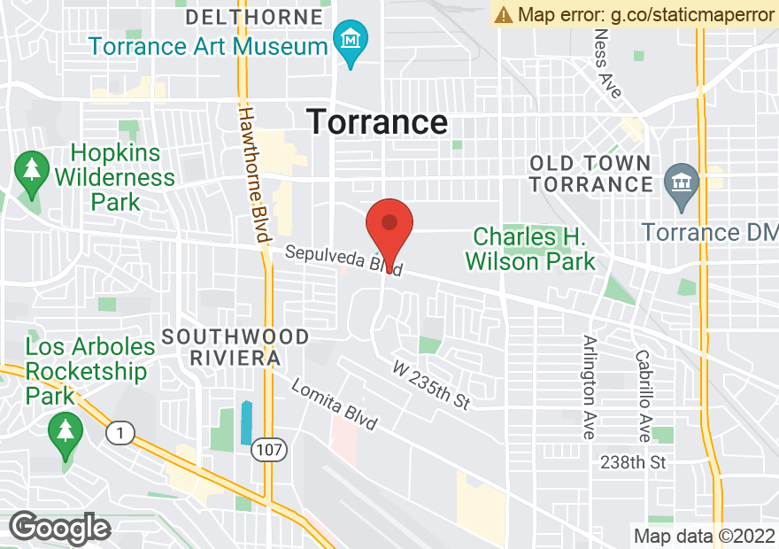 Google Map of 2976 SEPULVEDA BLVD