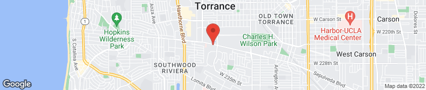 Map of 3060 Sepulveda Blvd. in Torrance